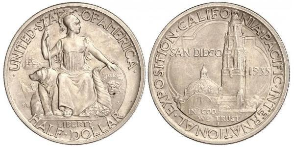 1/2 Долар США (1776 - ) Срібло