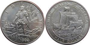 1/2 Доллар США (1776 - ) Медь