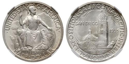 1/2 Доллар США (1776 - ) Серебро