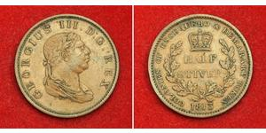 1/2 Стівер Сполучене королівство Великобританії та Ірландії (1801-1922) Мідь Георг III (1738-1820)