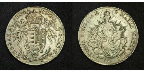1/2 Талер Королiвство Угорщина (1000-1918) Срібло Joseph II, Holy Roman Emperor  (1741 - 1790)