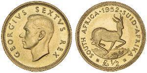 1/2 Фунт Південно-Африканська Республіка Золото Георг VI (1895-1952)