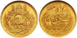 1/2 Amani Эмират Афганистан (1823 - 1926) Золото