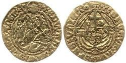 1/2 Angel Kingdom of England (927-1649,1660-1707) Gold Edward IV (1442-1483)