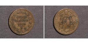1/2 Baiocco Papal States (752-1870)