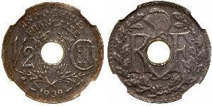 1/2 Cent Indocina francese (1887-1954) Bronzo