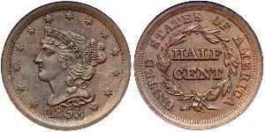 1/2 Cent USA (1776 - ) Copper