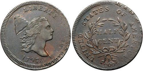 1/2 Cent Stati Uniti d