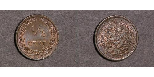 1/2 Cent Kingdom of the Netherlands (1815 - )