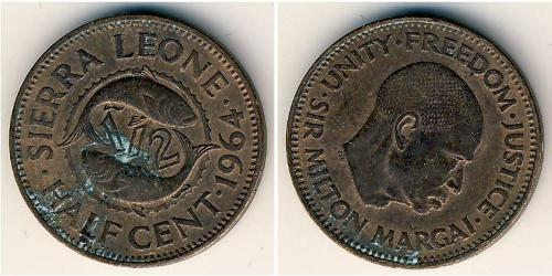 1/2 Cent Sierra Leone