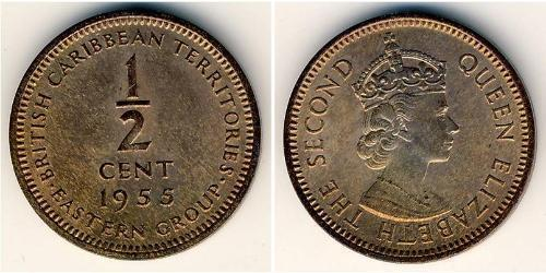 1/2 Cent   Elizabeth II (1926-)