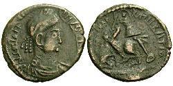 1/2 Centenionalis Römische Kaiserzeit (27BC-395) Bronze Constantius II(317 - 361)