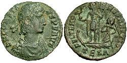 1/2 Centenionalis Impero romano (27BC-395) Bronzo Costante I (320-350)