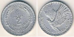 1/2 Centesimo Chile Aluminium