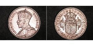 1/2 Crown 南羅德西亞 銀 乔治五世  (1865-1936)