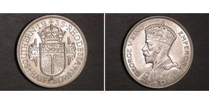 1/2 Crown Southern Rhodesia (1923-1980) Argent George V (1865-1936)
