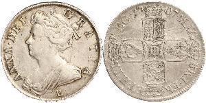 1/2 Crown Königreich Großbritannien (1707-1801) Silber Anne (Großbritannien)(1665-1714)