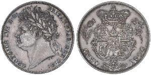 1/2 Crown United Kingdom of Great Britain and Ireland (1801-1922) Silver George IV (1762-1830)