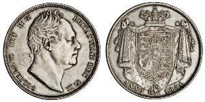 1/2 Crown United Kingdom of Great Britain and Ireland (1801-1922) Silver William IV (1765-1837)