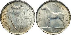 1/2 Crown Irland (1922 - )
