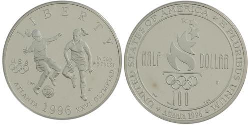 1/2 Dólar Estados Unidos de América (1776 - ) Níquel/Cobre