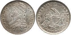 1/2 Dólar / 50 Cent Estados Unidos de América (1776 - ) Plata