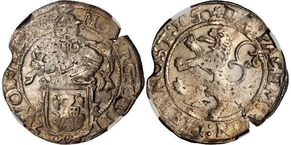 1/2 Daalder Республика Соединённых провинций (1581 - 1795) Серебро