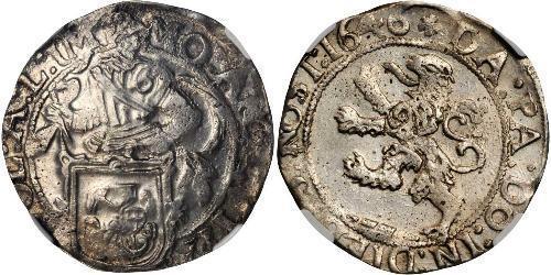 1/2 Daalder 荷蘭共和國 (1581 - 1795) 銀