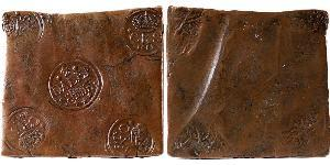 1/2 Daler Sweden Copper Adolf Frederick of Sweden (1710 - 1771)