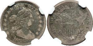 1/2 Dime / 5 Cent USA (1776 - ) Silver