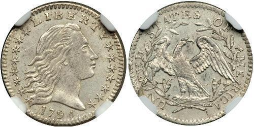 1/2 Dime / 5 Cent USA (1776 - ) Silver