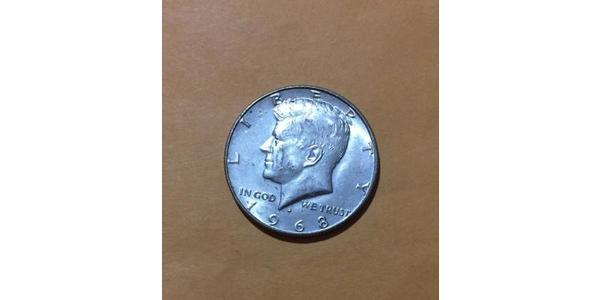 1/2 Dollar 美利堅合眾國 (1776 - ) 銀 John Fitzgerald Kennedy (1917-1963)