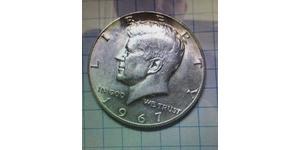 1/2 Dollar USA (1776 - ) Copper John Fitzgerald Kennedy (1917-1963)
