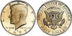 1/2 Dollar USA (1776 - ) Copper John Fitzgerald Kennedy (1917-1963)