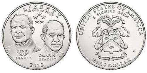 1/2 Dollar USA (1776 - ) Copper