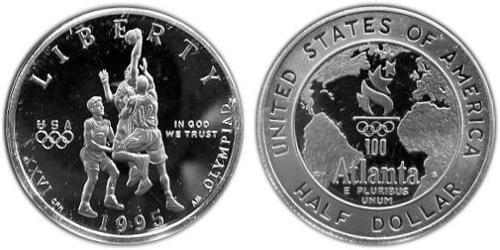 1/2 Dollar USA (1776 - ) Copper/Nickel