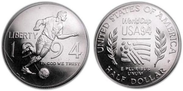 1/2 Dollar USA (1776 - ) Nickel