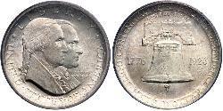 1/2 Dollar Vereinigten Staaten von Amerika (1776 - ) Silber George Washington