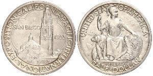1/2 Dollar Vereinigten Staaten von Amerika (1776 - ) Silber