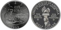 1/2 Dollar USA (1776 - ) Silver James Madison (1751 - 1836)