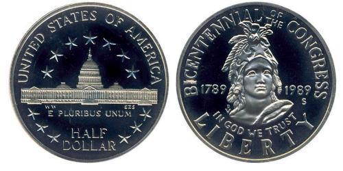 1/2 Dollar États-Unis d