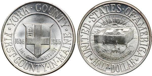 1/2 Dollar 美利堅合眾國 (1776 - )