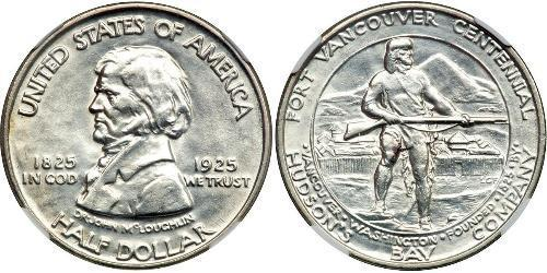 1/2 Dollar Vereinigten Staaten von Amerika (1776 - )