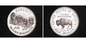1/2 Dollar / 50 Cent USA (1776 - ) Copper/Nickel