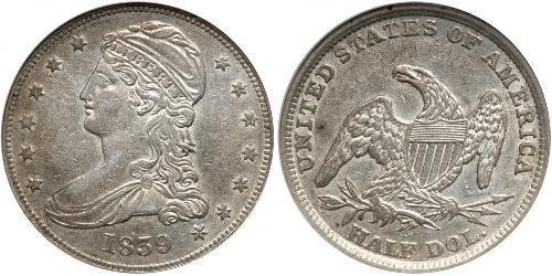 1/2 Dollar / 50 Cent Vereinigten Staaten von Amerika (1776 - ) Silber