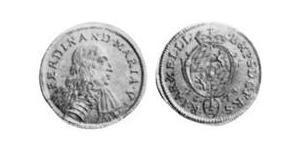 1/2 Ducat Electorate of Bavaria (1623 - 1806) Gold Ferdinand Maria, Elector of Bavaria (1636 – 1679)