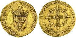 1/2 Ecu Kingdom of France (843-1791) Gold Francis I of France (1494 - 1547)