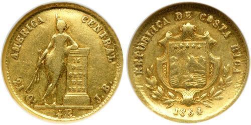 1/2 Escudo Costa Rica 金