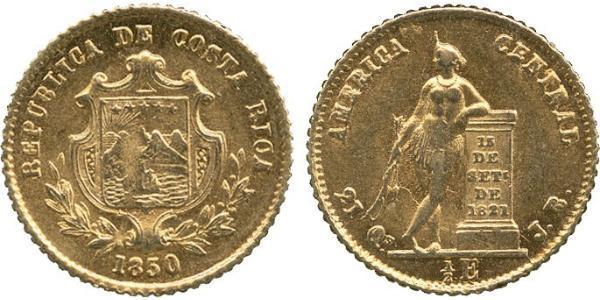1/2 Escudo Costa Rica Gold