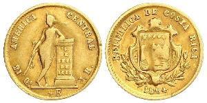 1/2 Escudo Costa Rica Or